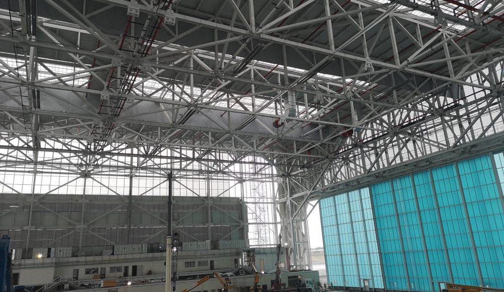 çukurova ısı iga istanbul havalimanı hangar ups240319
