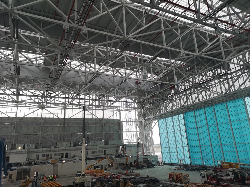 ukurova ısı iga istanbul havalimanı hangar ups240319