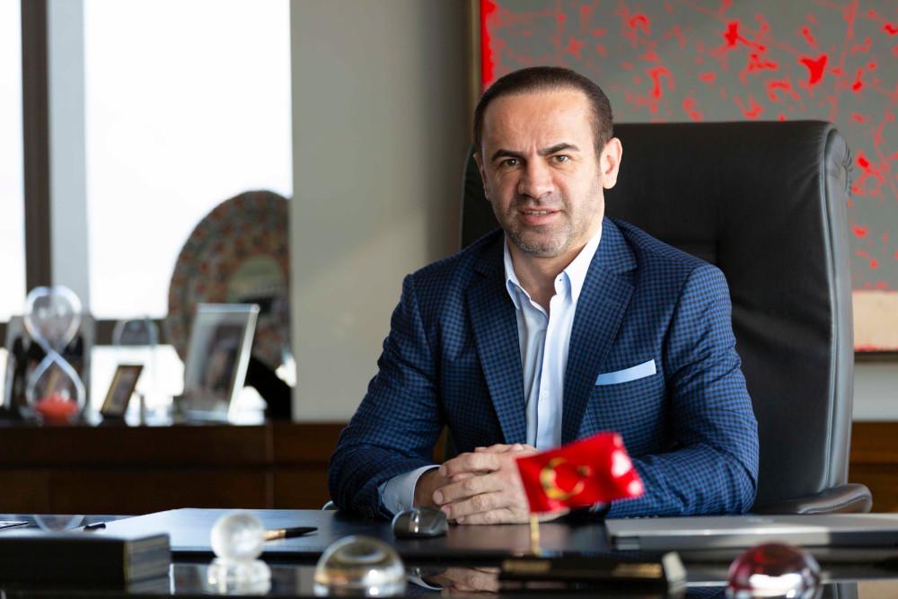 Folkart Yönetim Kurulu Başkanı Mesut Sancak izmir131119