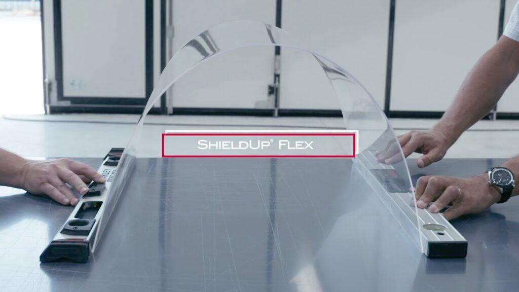 Akrilik levha ShieldUp® Flex