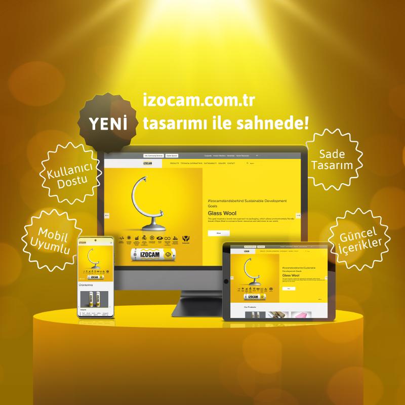 Izocam Web Site Acilis Duyurusu Banner Tr