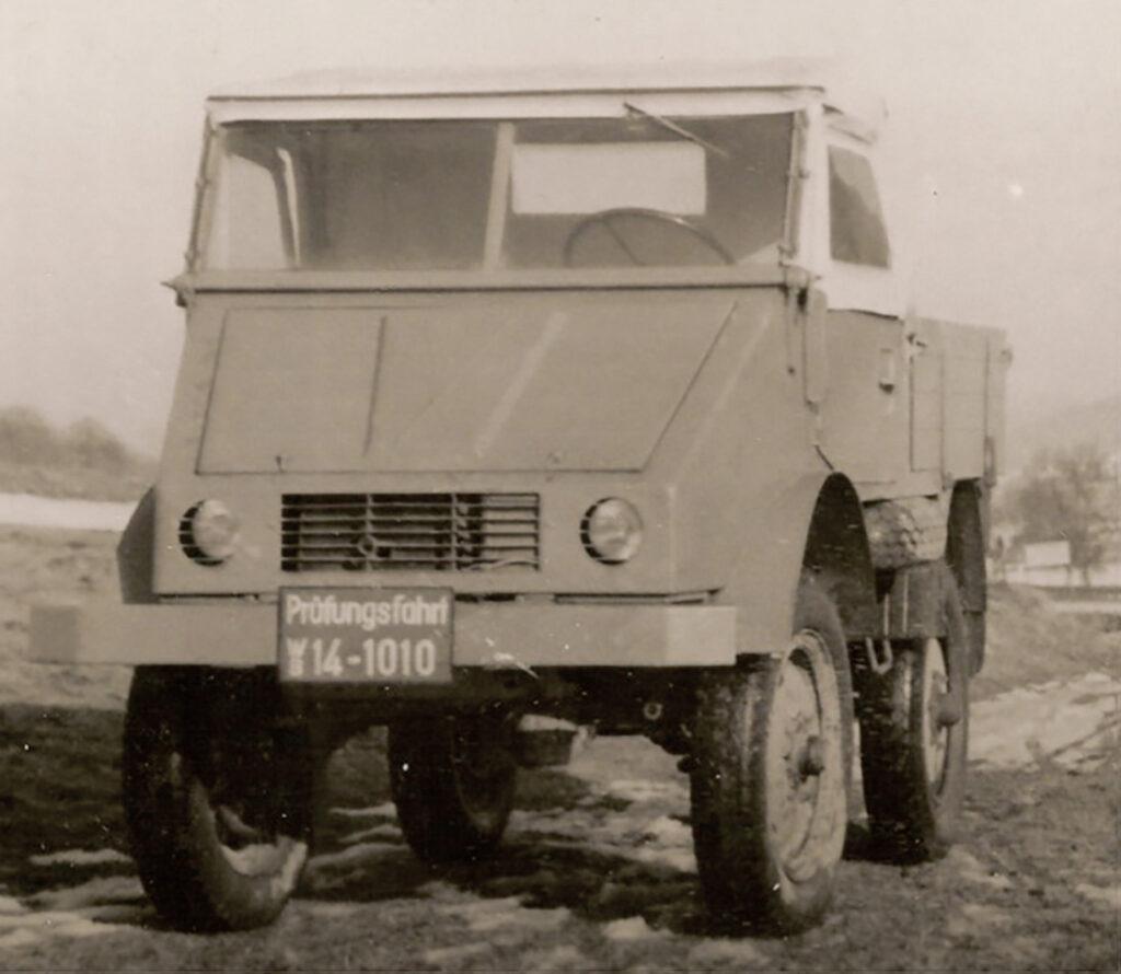 03 Unimog Prototipi Aralik 1946