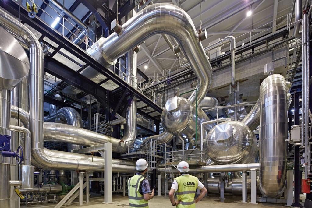 Riga 420 MW Kombine Cevrim Guc Santrali Letonya