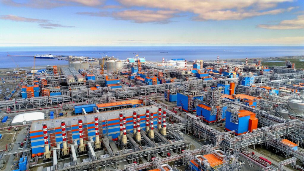 Yamal LNG Tesisi Rusya Federasyonu