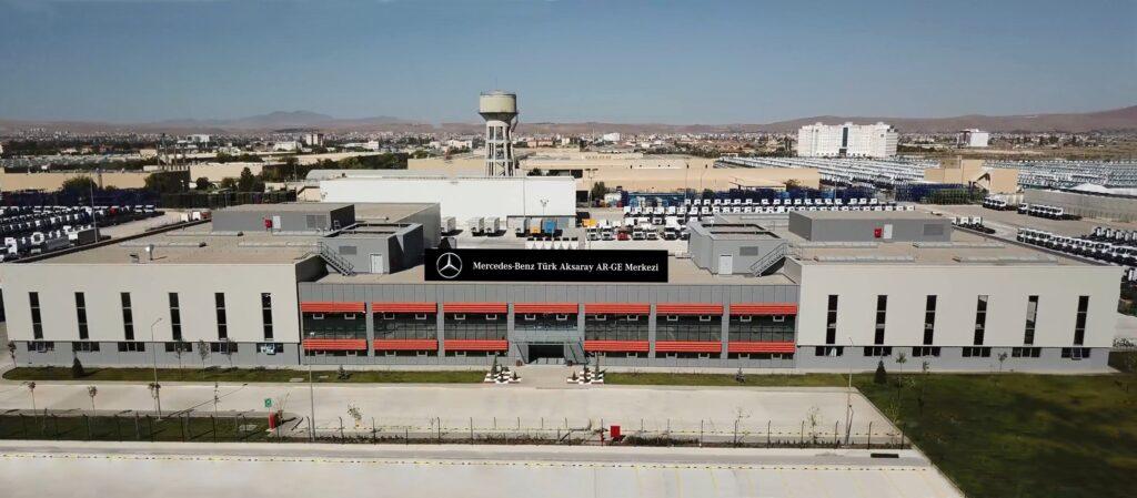 Mercedes Benz Turk Aksaray AR GE Merkezi 1