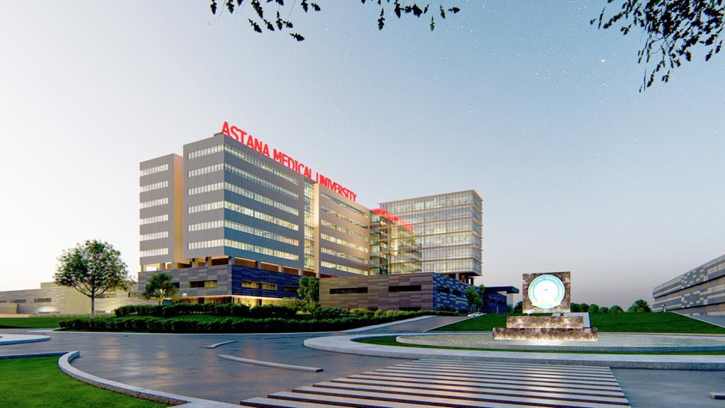Astana Medikal Universitesi Hastanesi Projesi Nur Sultan