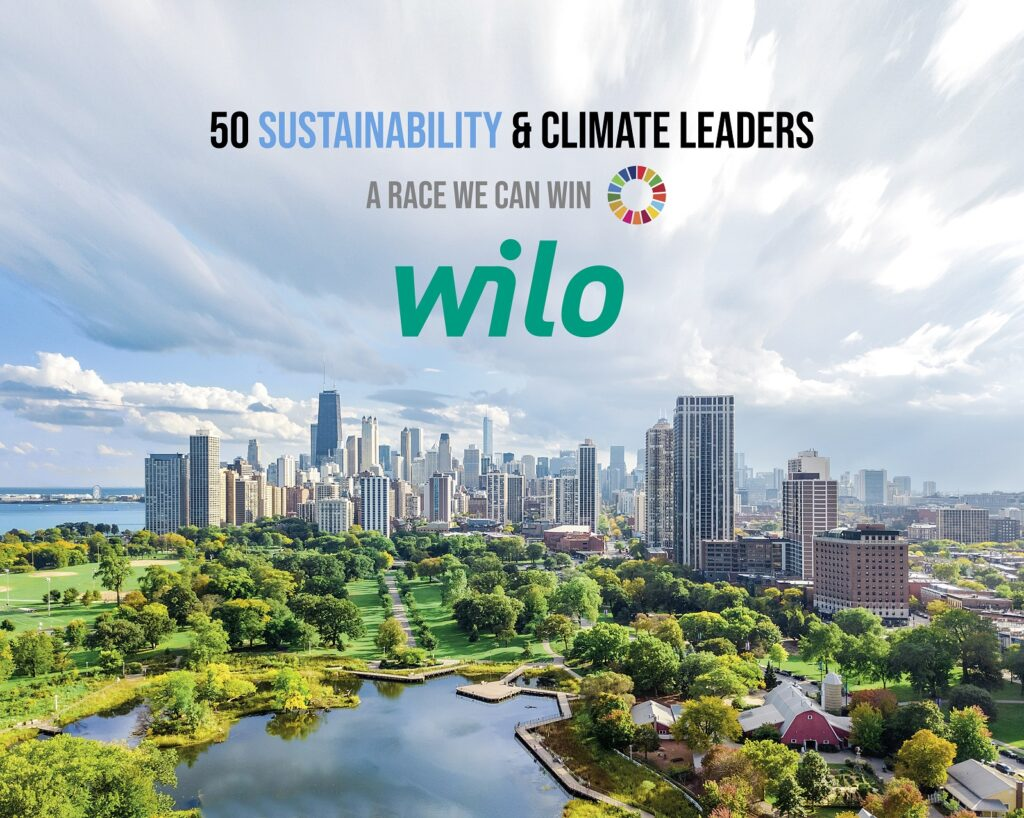 Wilo 50 Sustainability Climate Leaders